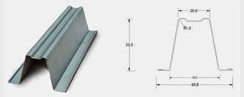 jenis baja ringan, ukuran baja ringan, desain baja ringan, baja ringan, pasang baja ringan