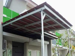 model kanopi baja ringan,atap kanopi baja ringan,kanopi baja ringan