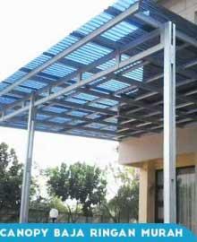 Kanopi Baja Ringan Atap Solartuff