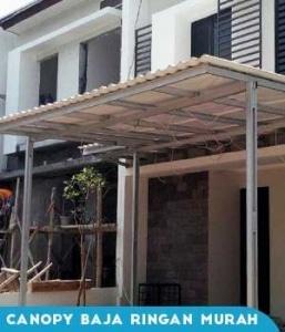 Model Rangka Single Atap Alderon RS